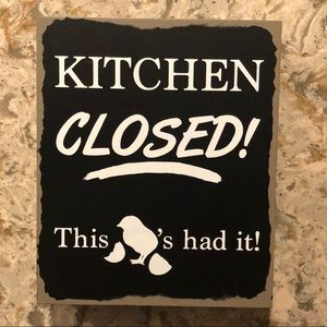Kitchen Closed Picture